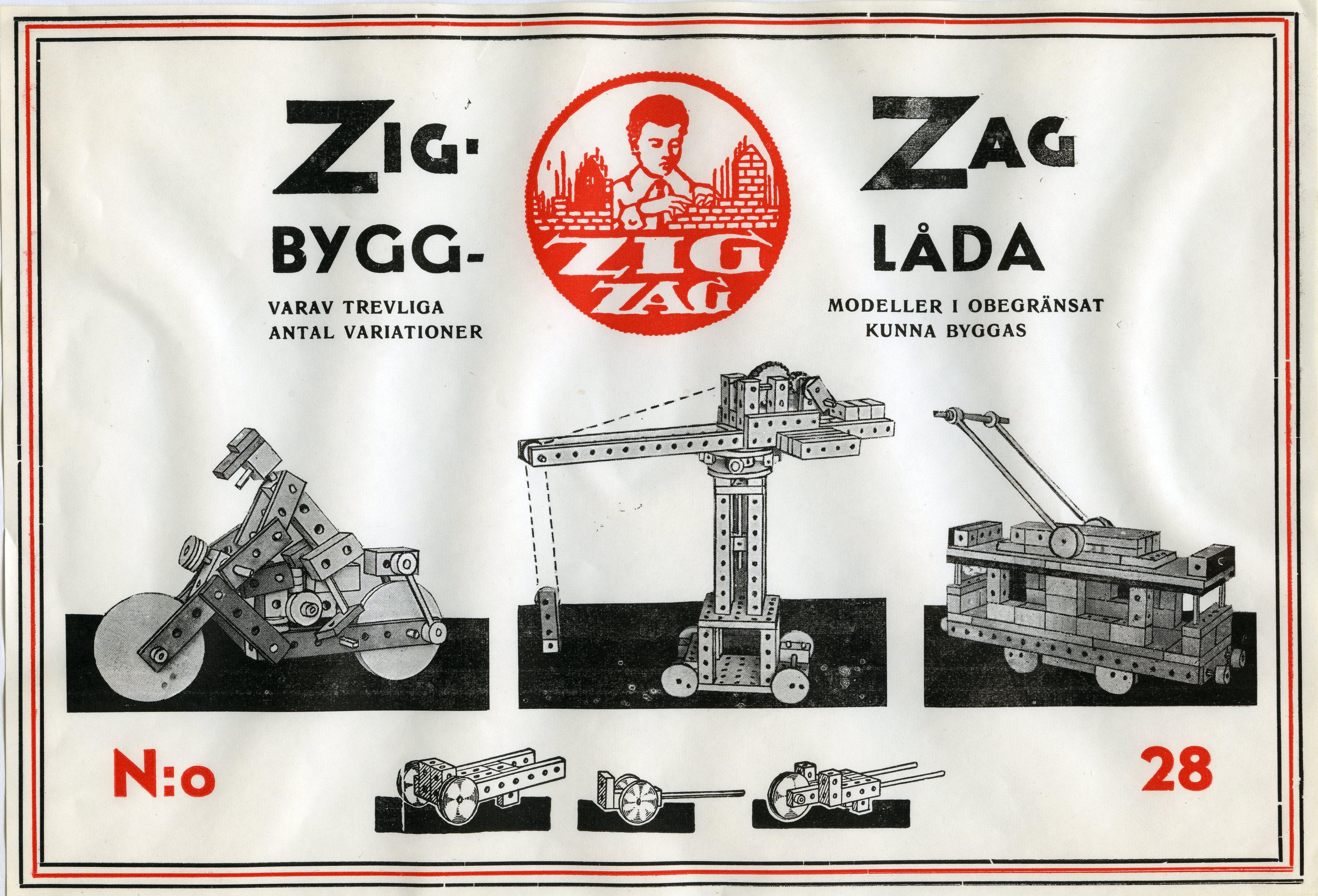 Bild 1 Zig-Zag bygglåda 28