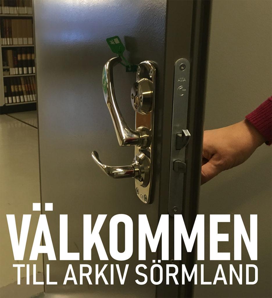 Dörren står öppen och ni är välkomna till oss. Foto: H Karlsson