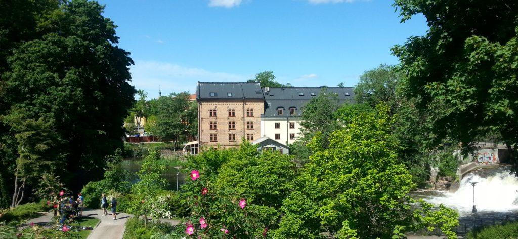 Sommarbild från Nyköping 2016