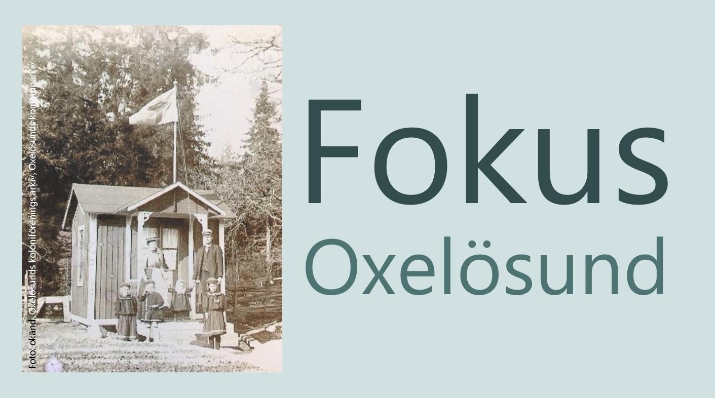 Foto från Oxelösunds första kolonistuga ca 1910. Foto okänd. Oxelösunds koloniförenings arkiv, Oxelösunds kommunarkiv