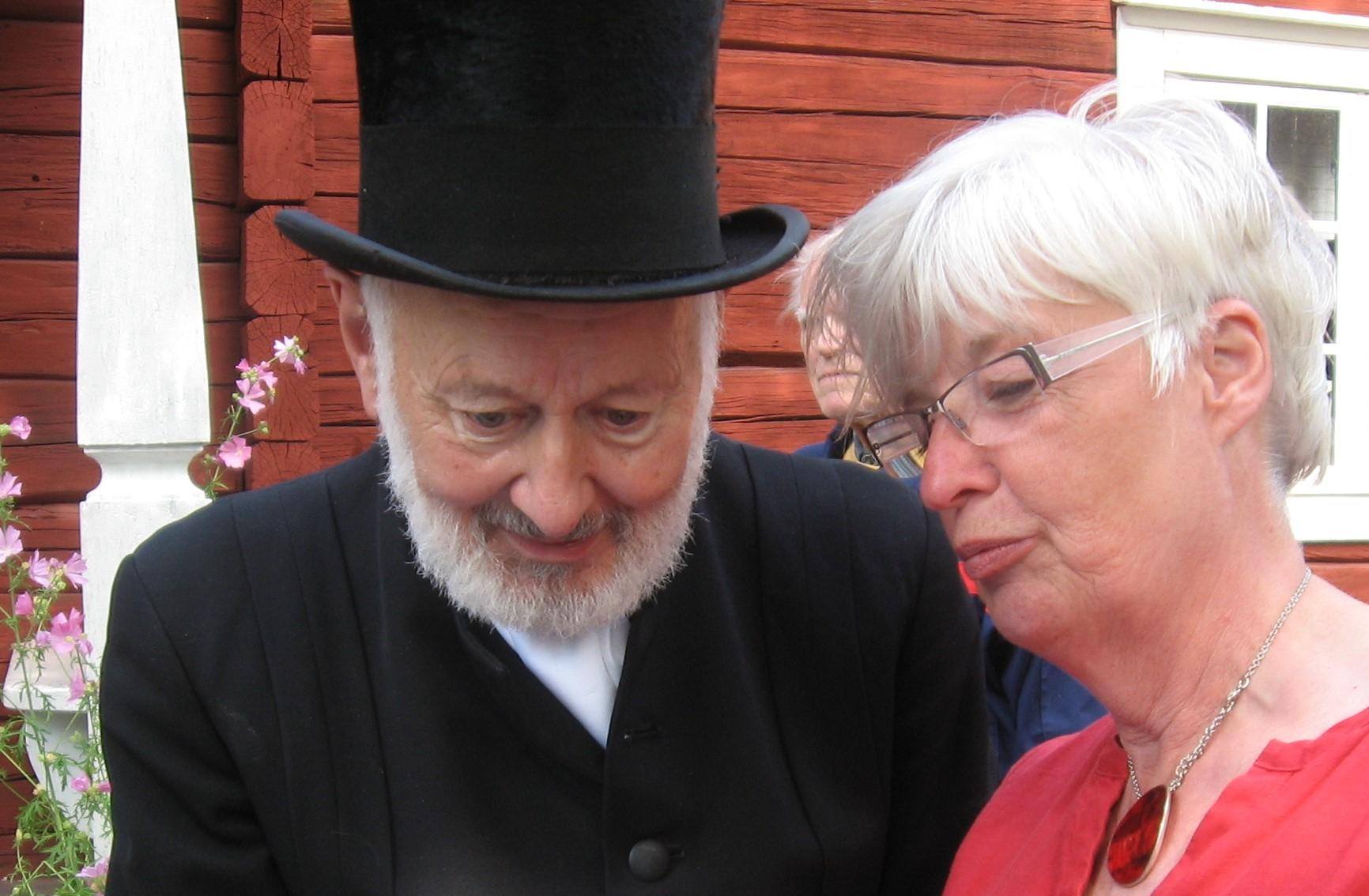 Bror-Erik Ohlsson och Ann-Marie Asplund 2012 foto H Karlsson